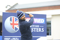 Lee Slattery (ENG) during the Hero Pro-am at the Betfred British Masters, Hillside Golf Club, Lancashire, England. 08/05/2019.<br /> Picture Fran Caffrey / Golffile.ie<br /> <br /> All photo usage must carry mandatory copyright credit (© Golffile | Fran Caffrey)