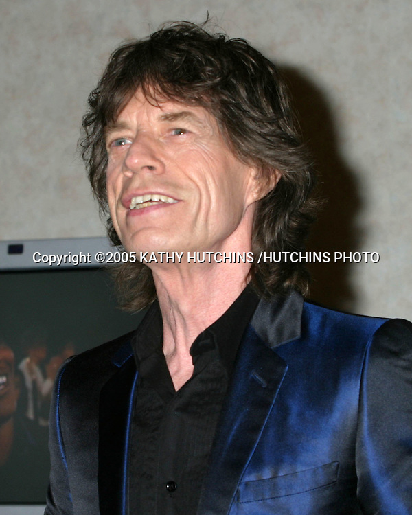 ©2005 KATHY HUTCHINS /HUTCHINS PHOTO.62ND GOLDEN GLOBES.BEVERLY HILLS, CA.JANUARY 16, 2005..MICK JAGGER..