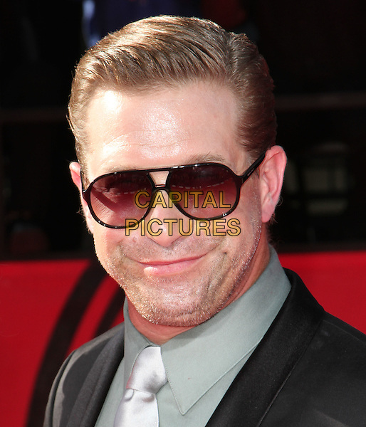 STEPHEN BALDWIN .18th Annual ESPY Awards - Arrivals held at The Nokia LA Live, Los Angeles, CA, USA, 14th July 2010..espys portrait headshot sunglasses suit tie aviators stubble facial hair silver grey gray tie .CAP/ADM/KB.©Kevan Brooks/AdMedia/Capital Pictures.
