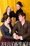 Pictured Ciara McCarthy (Nora Clitheroe), Eamonn Maher (Jack Clitheroe), Tracy O'Keeffe (Mollser), Marie Courtney (Woman from Rathmines) from Mounthawk Secondary School production of  Plough and the Stars at their Dress rehearsal  on Monday.The Play taking place in Siamsa Tire January 29th-31st. All performances start at 8pm
