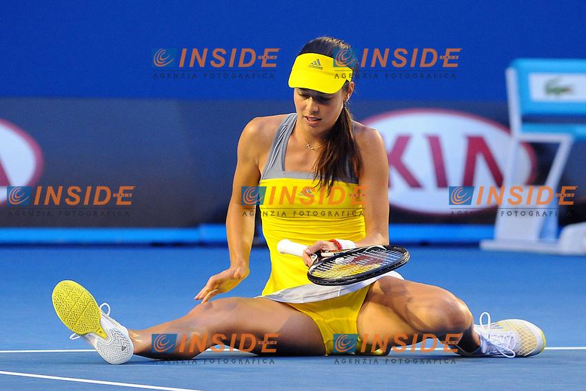 Ana Ivanovic (SRB) .Melbourne 20/1/2013.Tennis Open d'Australia.Foto Virginie Bouyer / Sportmag / Panoramic / Insidefoto.ITALY ONLY