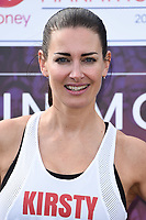 Kirsty Gallacher<br /> at the start of the London Marathon 2019, Greenwich, London<br /> <br /> ©Ash Knotek  D3496  28/04/2019
