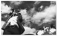 le groupe psychedelique THE GAP en spectacle le dernier jour de l'expo 67.<br /> <br /> PHOTO : Alain Renaud - Agence Quebec Presse