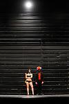 DANSE ELARGIE..Je ne suis pas une prostituée, j'espère le devenir....Choregraphie et interpretation : Michael Allibert, Olivier Debos, Maija Heiskanen, Alicia Malialin,Nathalie Masseglia, Delphine Pouilly, Sandra Riviere..Musique : Sexy Sushi..Lieu : Theatre de la Ville..Ville : Paris..Le : 26 06 2010..© Laurent PAILLIER / photosdedanse.com..All rights reserved