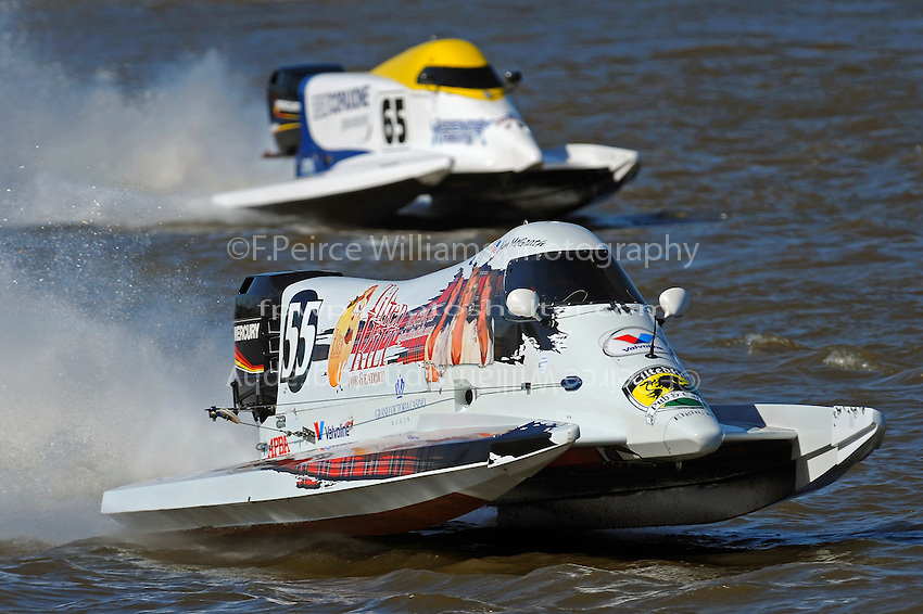 Jim McGrath, (#55) and Ruben Ascencio III (#65) (SST-120 class)