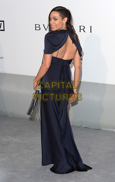 CAP D'ANTIBES, FRANCE - MAY 22: Rosario Dawson attends amfAR's 21st Cinema Against AIDS Gala, Presented By WORLDVIEW, BOLD FILMS, And BVLGARI at the 67th Annual Cannes Film Festival on May 22, 2014 in Cap d'Antibes, France. <br /> CAP/CAS<br /> &copy;Bob Cass/Capital Pictures