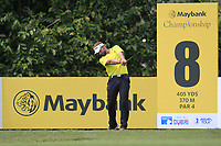 Joost Luiten (NED) in action on the 8th tee during Round 2 of the Maybank Championship at the Saujana Golf and Country Club in Kuala Lumpur on Friday 2nd February 2018.<br /> Picture:  Thos Caffrey / www.golffile.ie<br /> <br /> All photo usage must carry mandatory copyright credit (&copy; Golffile | Thos Caffrey)