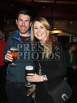 Conor Morrisey and Elaine Farrelly at the Cachimbo gig in Sarsfields. Photo:Colin Bell/pressphotos.ie