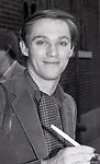 """Richard Thomas after a performance in """"Fifth of July"""" on July 18, 1981 at The New Apollo Theatre in New York City."""