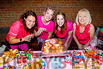 Liis Jahimaa, Claire Foran, Maureen O'Herlihy and Terri Norris having their cake and enjoying the Carly Norris danceathon fundraiser for Recover Haven on Sunday in Collis Sandes.