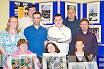 ARTISTIC: Photographers.from the St.John of God Services.who opened their.photographic exhibition.in the KDYS.Killarney last Monday.night. Front row.l-r: Jennifer OSullivan,.Claire Rohan.and Teresa OBrien..Back row l-r: Angie.Kissane (St John of.God), Michael.OLeary, Seamus.Long (Killarney.Camera Club),.Michael OSullivan,.Vincent Lacke and.Teddy Sugrue (Killarney.Camera.Club).
