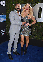 """LOS ANGELES - OCTOBER 4: Charlotte Flair attends the kick-off event for the """"WWE Friday Night Smackdown on FOX"""" at Staples Center on October 4, 2019 in Los Angeles, California. (Photo by Frank Micelotta/Fox Sports/PictureGroup)"""
