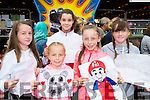 Jessica doody, Leah Fleming, Muireann Ring,Ali Anne fleming and Sarah Doody Firies at the Birds amusements art competition on Saturday