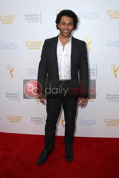 Corbin Bleu<br /> at the 37th College Television Awards, Skirball Cultural Center, Los Angeles, CA 05-25-16<br /> David Edwards/Dailyceleb.com 818-249-4998