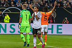 06.09.2019, Volksparkstadion, HAMBURG, GER, EMQ, Deutschland (GER) vs Niederlande (NED)<br /> <br /> DFB REGULATIONS PROHIBIT ANY USE OF PHOTOGRAPHS AS IMAGE SEQUENCES AND/OR QUASI-VIDEO.<br /> <br /> im Bild / picture shows<br /> <br /> Serge Gnabry (Deutschland / GER #20) <br /> <br /> während EM Qualifikations-Spiel Deutschland gegen Niederlande  in Hamburg am 07.09.2019, <br /> <br /> Foto © nordphoto / Kokenge