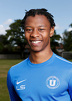 23rd May 2020; United Select HQ, Richings Sports Park, Iver, Bucks, England, United Select HQ exclusive Photo shoot session; Portrait of Lucas Sinclair, former Millwall academy
