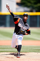 May 31, 2009:  Pitcher Luis Marte of the Erie Seawolves delivers a pitch during a game at Jerry Uht Park in Erie, NY.  The Seawolves are the Eastern League Double-A affiliate of the Detroit Tigers.  Photo by:  Mike Janes/Four Seam Images