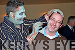 Brainwave Fundraiser. Attending the fund raising party in aid of Brainwave Epelipsey Ireland on Saturday night in Parker's Bar, Kilflynn  were face painter Gerard O'Dowd an Lar Corkery from Kilflynn
