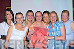 Michelle Moloney, Pauline Brosnan Marie Cummins, Lynsey Cronin, Mairead Foley, Marie Brosnan and Caragh Neeson Killarney looking for winners at the Friends of Johnny race night in Mustang Sally's bar Killarney on Friday night    Copyright Kerry's Eye 2008