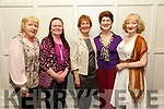 At the Fundraising Dance in aid of Recovery Haven Kerry Cancer Support House at Earl of Desmond Hotel on Friday were Eileen Dennehy, Mary Egan, Ann Cusack, Eileen Cunnane and Catherine Graney