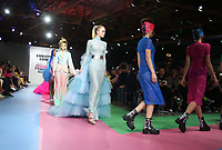 8 March 2019 - Los Angeles, California - Models. Christian Cowan x The Powerpuff Girls Runway Show at City Market Social House. Photo Credit: Faye Sadou/AdMedia