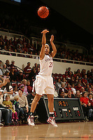 STANFORD, CA - JANUARY 10:  Guard Rosalyn Gold-Onwude #21 of the Stanford Cardinal during Stanford's 102-53 win against the Washington State Cougars on January 10, 2009 at Maples Pavilion in Stanford, California.