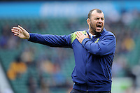 Michael Cheika, Australia Head Coach, during the warm up before the Quarter Final of the Rugby World Cup 2015 between Australia and Scotland - 18/10/2015 - Twickenham Stadium, London<br /> Mandatory Credit: Rob Munro/Stewart Communications