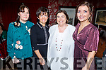 Mags O'Keeffe, Delia Daly, Mary Hurley and Siobhan Dwyer enjoying the evening in Cassidys on Saturday