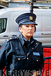 Garda Orla O'Shea at Kenmare Court on Friday.