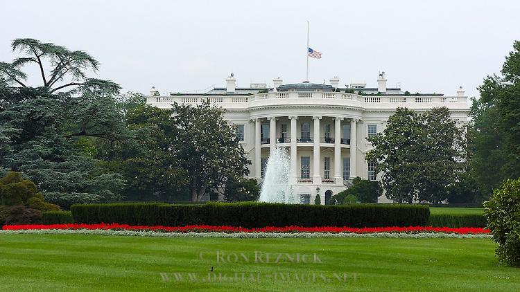 The White House, South Lawn, Washington DC