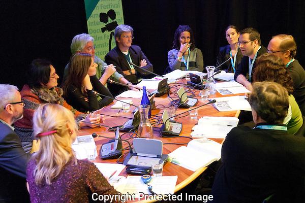 Amsterdam, 21-11-11, IDFA, International Documentary Festival Amsterdam, Forum activiteiten in het Compagnietheater, photo by Nichon Glerum