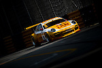 Yuk Lung Siu races the Macau GT Cup during the 61st Macau Grand Prix on November 14, 2014 at Macau street circuit in Macau, China. Photo by Aitor Alcalde / Power Sport Images