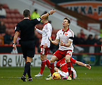Dean Hammond of Sheffield Utd reacts after a decision goes against him - English League One - Sheffield Utd vs Coventry City - Bramall Lane Stadium - Sheffield - England - 13th December 2015 - Pic Simon Bellis/Sportimage-
