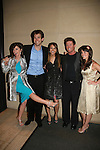 All My Children's Bobbie Eakes, Adam Mayfield, Chrishell Stause, Jacob Young, Melissa Claire Egan at the 36h Annual Daytime Entertainment Emmy® Awards Nomination Party - Sponsored By: Good Housekeeping and The National Academy of Television Arts & Sciences (NATAS) on Thursday, May 14, 2009 at Hearst Tower, New York City, New York. (Photo by Sue Coflin/Max Photos)....