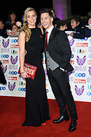 LONDON, UK. October 29, 2018: Gemma Atkinson &amp; Giovanni Pernice at the Pride of Britain Awards 2018 at the Grosvenor House Hotel, London.<br /> Picture: Steve Vas/Featureflash