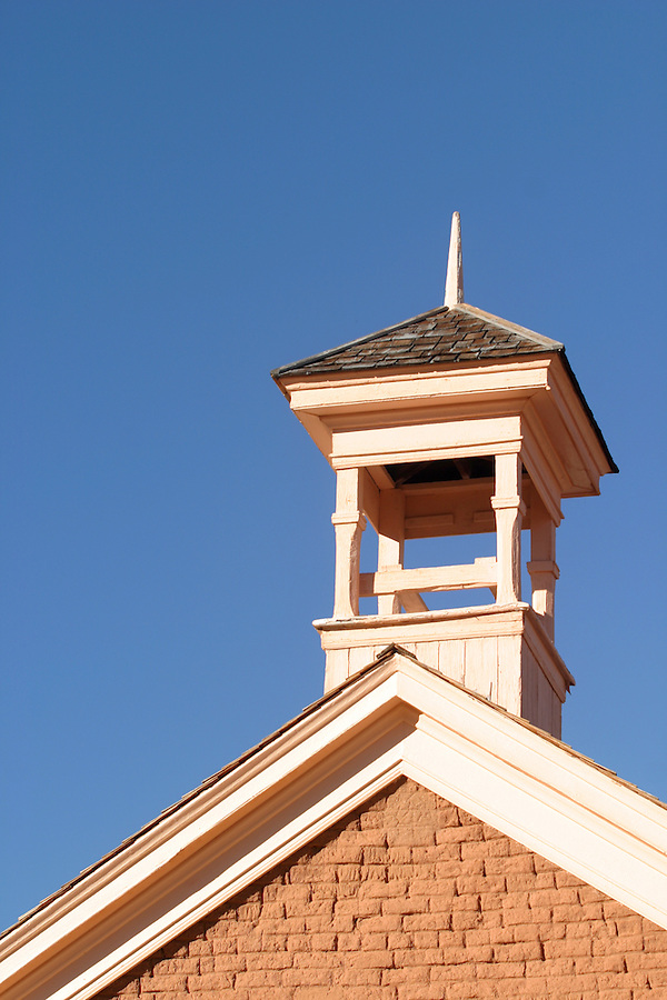 Church bell tower (circ 1886), Grafton (ghost town), Rockville, Washington County, UT