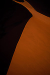 Abstraction of a sand dune in Sossusvlei, Namibia.