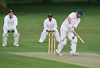J Walter in batting action for Shenfield - Harold Wood CC vs Shenfield CC - Essex Cricket League at Harold Wood Park - 27/06/09- MANDATORY CREDIT: Gavin Ellis/TGSPHOTO - Self billing applies where appropriate - 0845 094 6026 - contact@tgsphoto.co.uk - NO UNPAID USE.