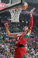 Mexico's Gustavo Ayon during 2014 FIBA Basketball World Cup Round of 16 match.September 6,2014.(ALTERPHOTOS/Acero)