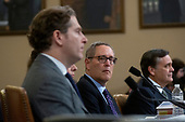 Constitutional law experts Noah Feldman, of Harvard University, Pamela Karlan, of Stanford University, Michael Gerhardt, of the University of North Carolina, and Jonathan Turley of The George Washington University Law School, testify before the United States House Committee on the Judiciary on Capitol Hill in Washington D.C., U.S. on Wednesday, December 4, 2019.<br /> <br /> Credit: Stefani Reynolds / CNP