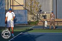 Boise, ID. Boise state Senior Day. Coach greg patton's son Garrett Patton, the only Senior on the Bronco team takes plays his last regular season match on the Appleton Tennis Courts.