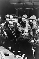 Fidel Castro, president of Cuba, at a meeting of the United Nations General Assembly. 22 September 1960<br /> <br /> PHOTO : Warren K. Leffler