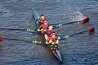 Crew: 469  VRC (C)  Vesta RC (D Bottomley)  4+ Inter<br /> <br /> Fours Head of the River 2018<br /> <br /> To purchase this photo, or to see pricing information for Prints and Downloads, click the blue 'Add to Cart' button at the top-right of the page.