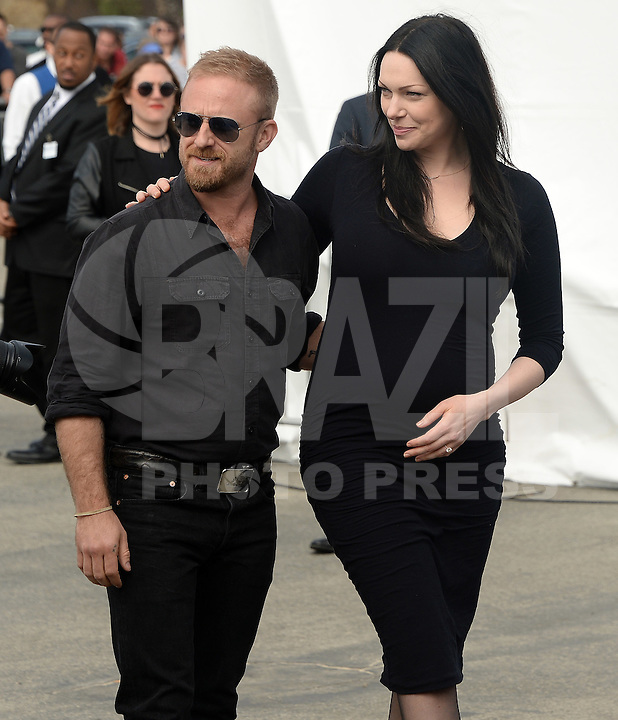 SANTA MONICA, 25.02.20-17 - SPIRIT-AWARDS - Laura Prepon e Ben Foster<br />