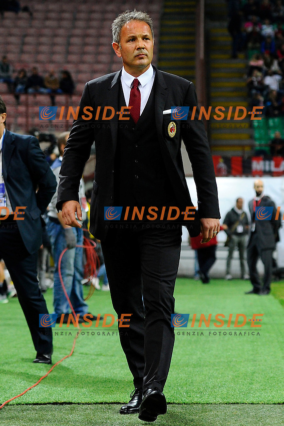 Sinisa Mihajlovic Milan<br /> Milano 4-10-2015 Stadio Giuseppe Meazza - Football Calcio Serie A Milan - Napoli. Foto Giuseppe Celeste / Insidefoto