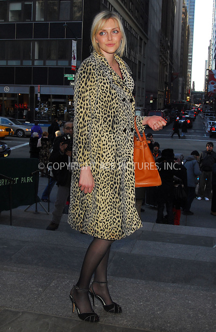 WWW.ACEPIXS.COM . . . . . ....February 6, 2007, New York City. ....Sophie Dahl seen at Bryant Park during the Mercedes-Benz Fashion Week Fall 2007. ....Please byline: KRISTIN CALLAHAN - ACEPIXS.COM.. . . . . . ..Ace Pictures, Inc:  ..(212) 243-8787 or (646) 769 0430..e-mail: info@acepixs.com..web: http://www.acepixs.com