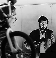 2001: A Space Odyssey (1968) <br /> Behind the scenes photo of Stanley Kubrick<br /> *Filmstill - Editorial Use Only*<br /> CAP/KFS<br /> Image supplied by Capital Pictures
