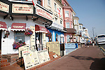 Seafront cafes and restaurants, Great Yarmouth seaside resort, Norfolk, England