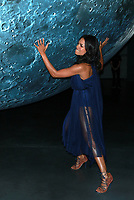NEW YORK, NY - OCTOBER 5: Rosario Dawson attends Artemis: Journey To The Moon presented by Audible at Hudson River Park's Classic Car Club In New York on October 5, 2017 in New York City. <br /> CAP/MPI99<br /> &copy;MPI99/Capital Pictures