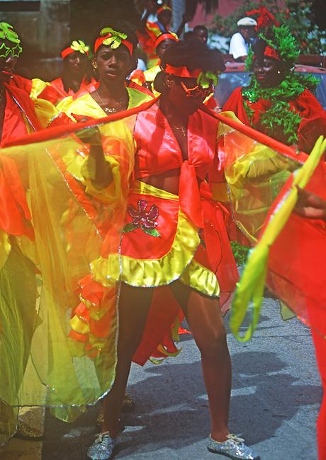 Summer Celebration, Saba, Caribbean..